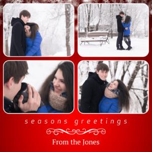 Christmas 6×6 Folded Cards