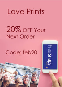 February Promotion – LOVE Prints! 20% off